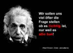 Albert Einstein 150x108 - Ein Appell zu mehr Gelassenheit?
