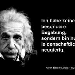 alle Albert Einstein Zitate 250x250 - Ich habe keine besondere Begabung, sondern bin ...