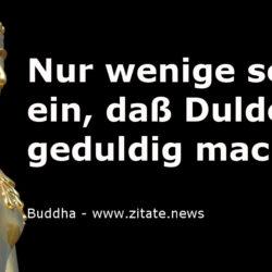 Geduld Buddha