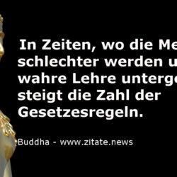 Gesetze Buddha