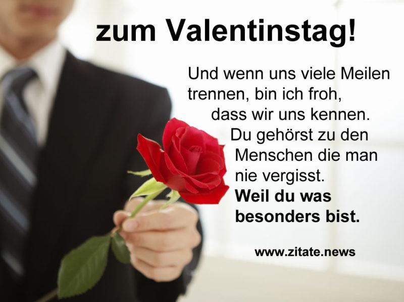 Valentinsgrüße und Zitate