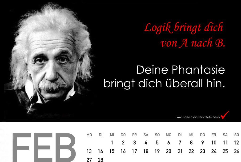 geburtstagsgeschenke für mama - Kalender 2018 mit Zitate von Albert Einstein