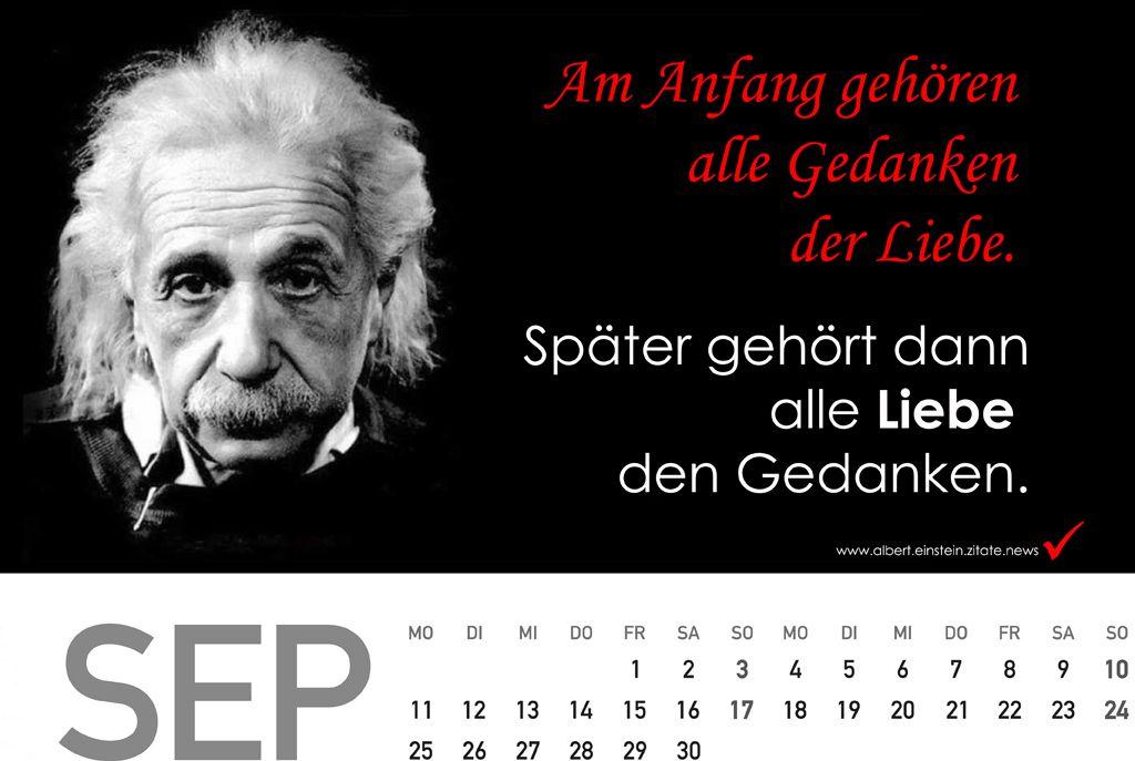 geburtstagsgeschenke ideen für frauen - Kalender 2018 mit Zitate von Albert Einstein