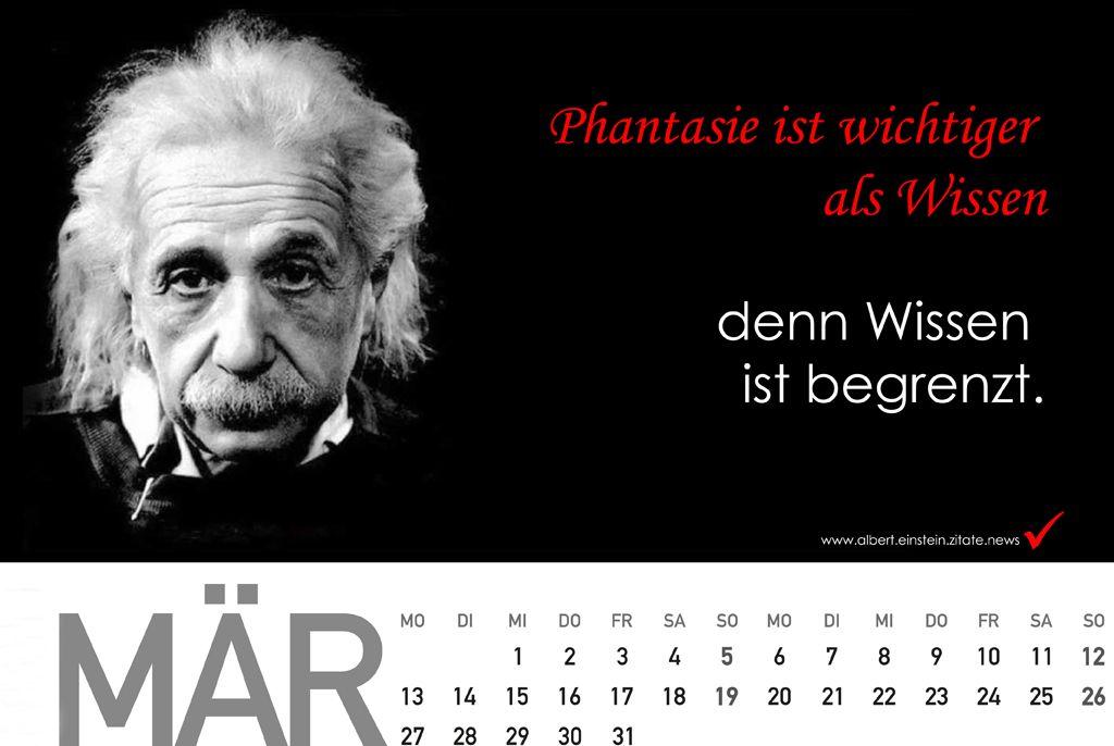 geburtstagsgeschenke ideen für männer - Kalender 2018 mit Zitate von Albert Einstein