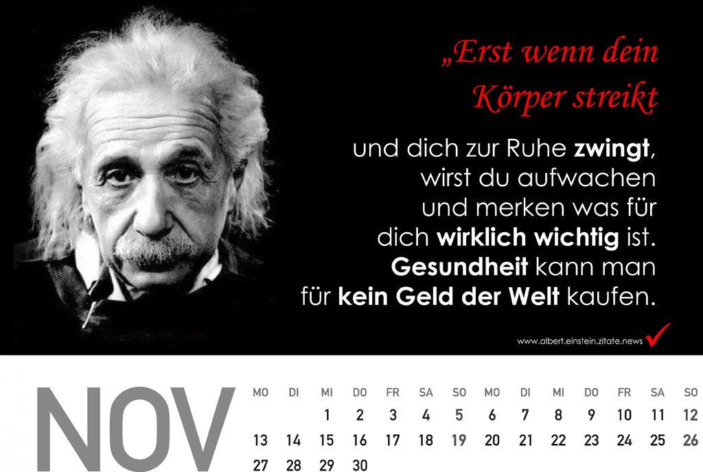 geschenkideen für beste freundin - Kalender 2018 mit Zitate von Albert Einstein