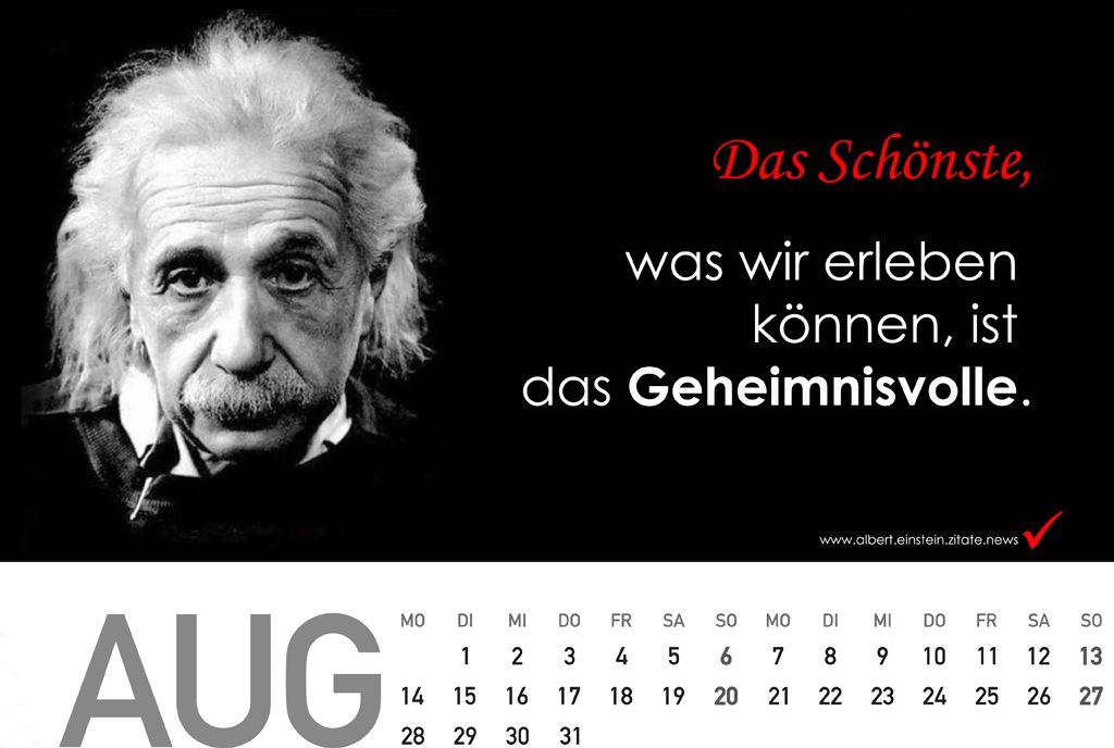 geschenkideen für frauen - Kalender 2018 mit Zitate von Albert Einstein