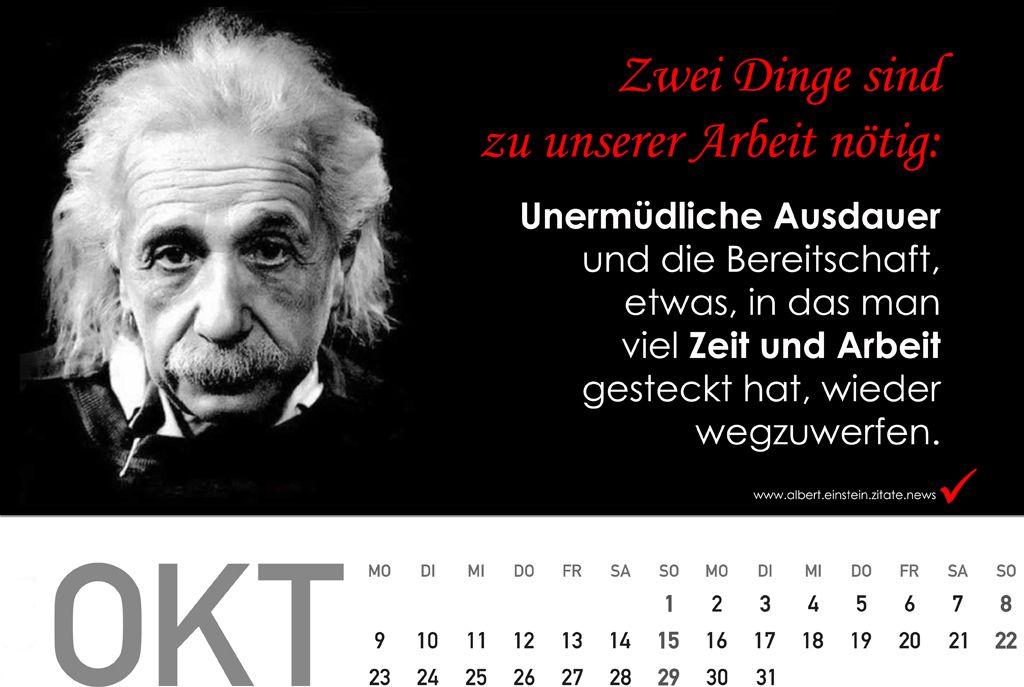 geschenkideen für männer - Kalender 2018 mit Zitate von Albert Einstein