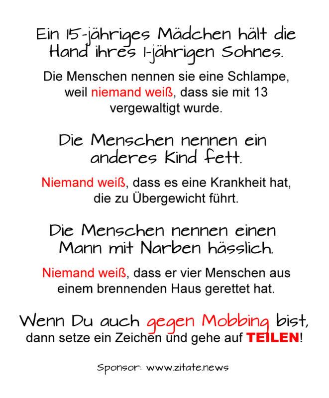 gegen mobbing sprüche GEGEN Mobbing: Leitfaden zur Prävention und Intervention   zitate.news gegen mobbing sprüche
