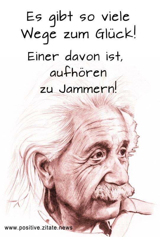 Albert Einstein Jammern