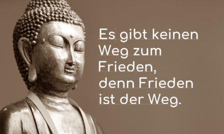 Es gibt keinenWegzumFrieden, denn Frieden ist der Weg.